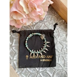 Alex&Ani Vintage 66 Aqua Wrap Bracelet
